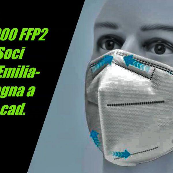 Oltre 200.000 mascherine FFP2 disponibili per i Soci ANDI Emilia-Romagna al costo di € 2,15 cad.