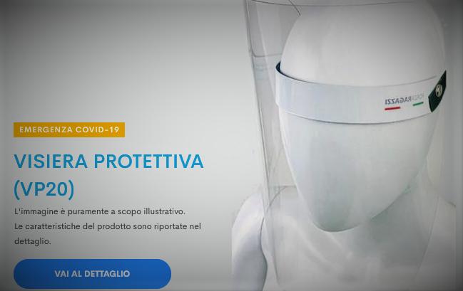Le visiere protettive sono disponibili per i Soci ANDI Emilia-Romagna